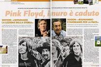 Famiglia Cristiana - Pink Floyd, Стена рухнула